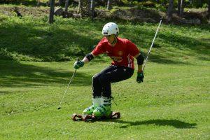 Ski herbe Jules Violon